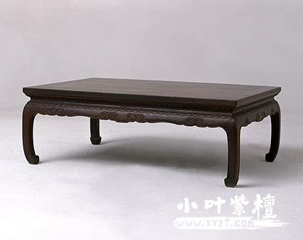 清紫檀木炕桌_一件见证了历史的尤物!